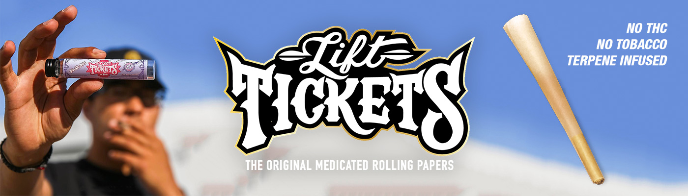 Lift Tickets 710 - Infused Papers