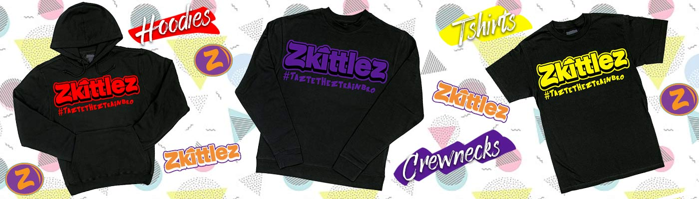 Zkittlez Clothing & Merchandise