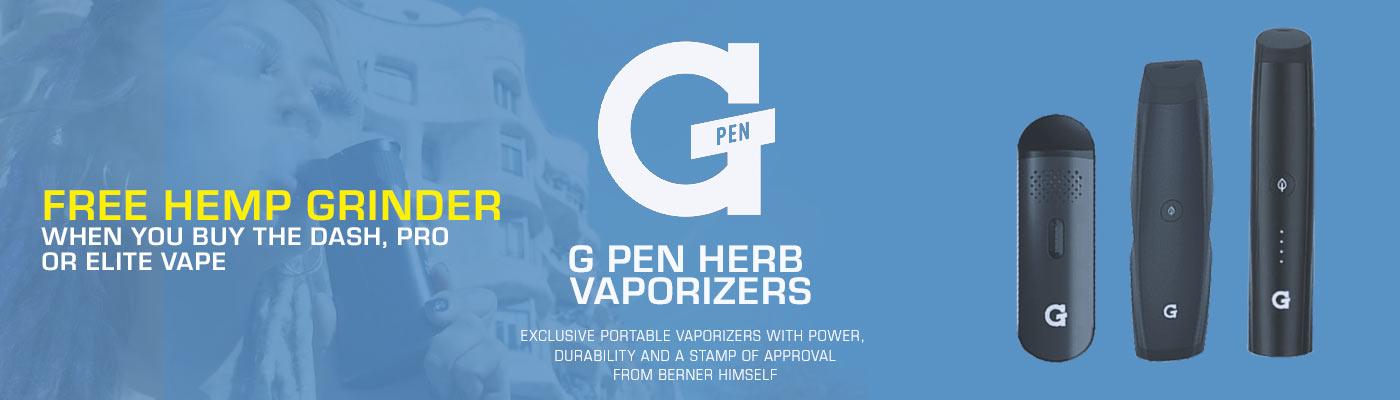 G Pen Herb Vaporizers