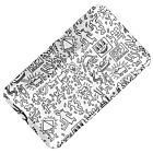 Keith Haring - Glass Tray - Black/White