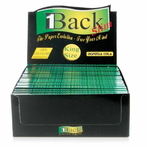 1Back Transparent King-size Rolling Papers