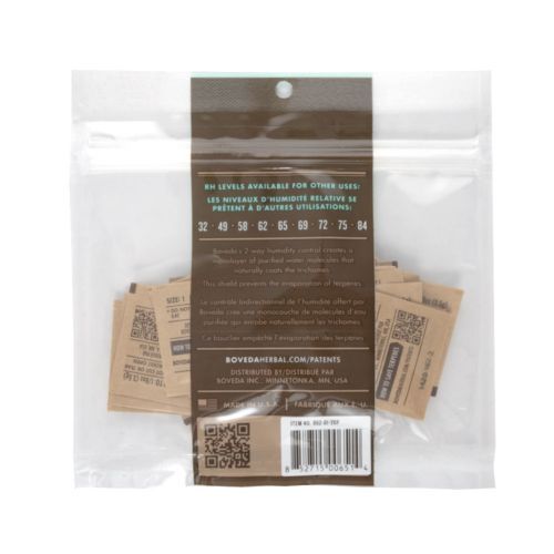 Size 1 - 62% 2 Way Humidity Control by Boveda - Pack Of 20