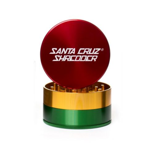 Large 3 Piece Gloss Herb Grinders by Santa Cruz Shredder