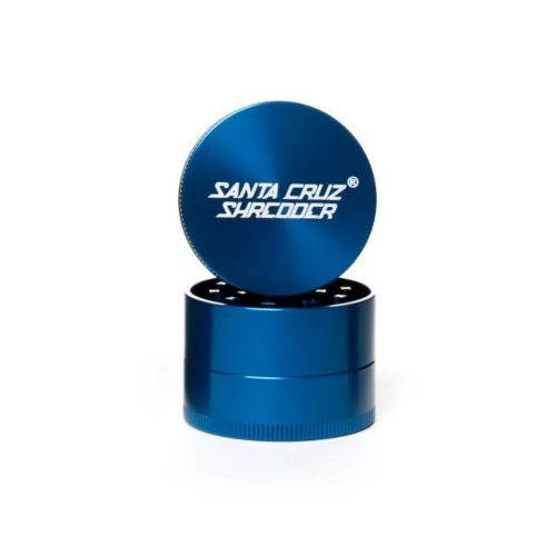 Medium 3 Piece Gloss Herb Grinders by Santa Cruz Shredder