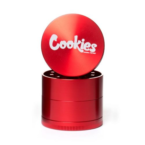 Medium 4 Piece Cookies Gloss Herb Grinders by Santa Cruz Shredder