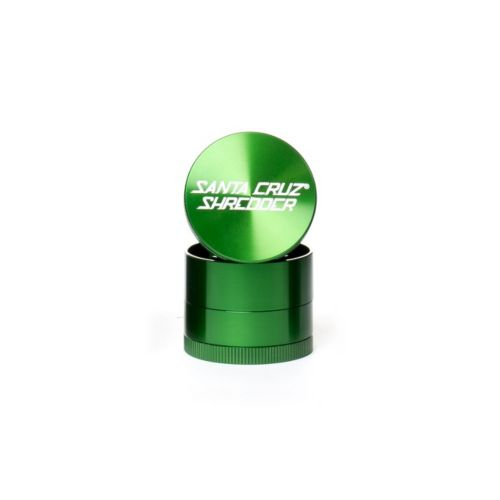 Small 4 Piece Gloss Herb Grinders by Santa Cruz Shredder