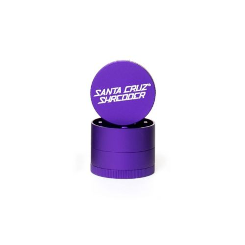 Small 4 Piece Matte Herb Grinders by Santa Cruz Shredder