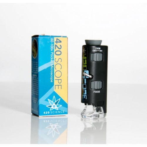 420Scope - 60-100x Pocket Microscope by 420 Science