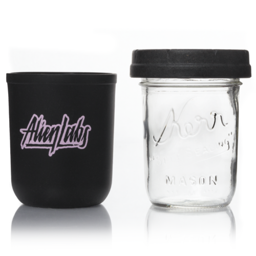 Future Madness 8oz AlienLabs Mason Stash Jar by RE:STASH