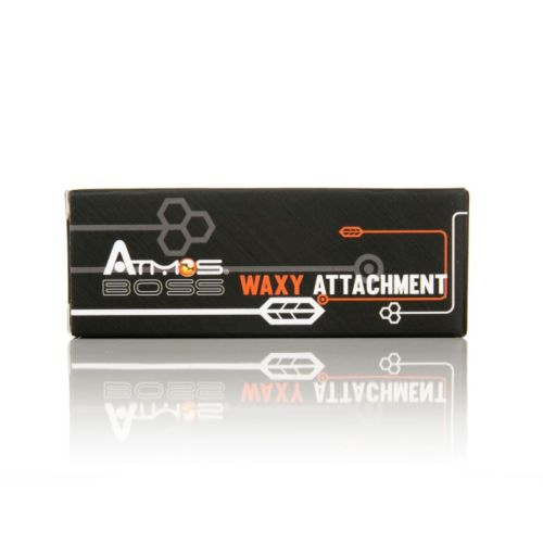 Atmos Boss Waxy Attachment Chamber (Black & Stainless)