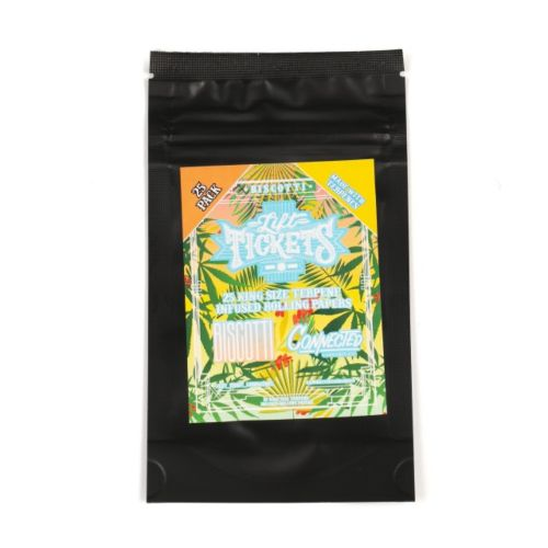 Biscotti - 25 Terpene Infused Rolling Papers by Lift Tickets 710