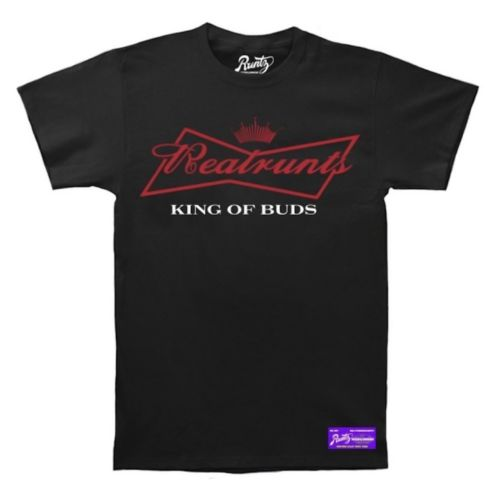 King Of Buds T-Shirt By Runtz - Black