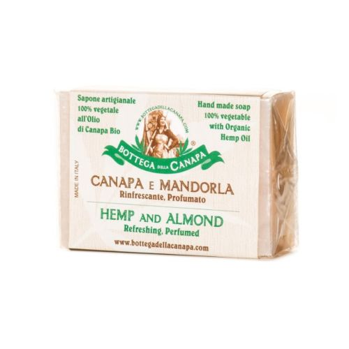 Hemp Soap With Almond by Bottega Della Canapa