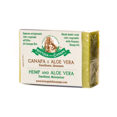 Hemp Soap With Aloe Vera by Bottega Della Canapa
