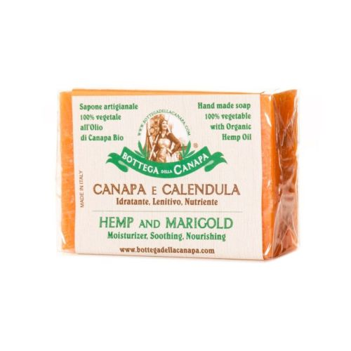 Hemp Soap With Marigold by Bottega Della Canapa