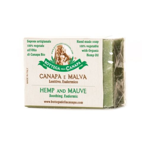 Hemp Soap With Mauve by Bottega Della Canapa