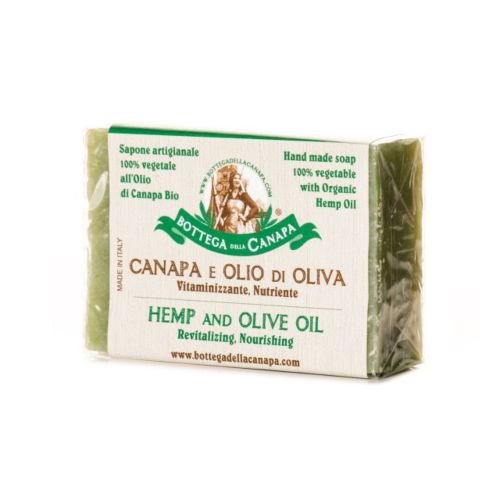 Hemp Soap With Olive Oil by Bottega Della Canapa