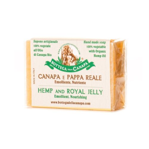 Hemp Soap With Royal Jelly by Bottega Della Canapa