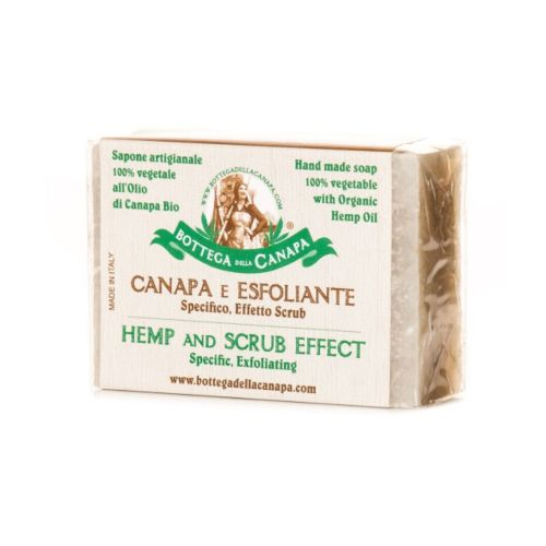 Hemp Soap With Scrub Effect by Bottega Della Canapa