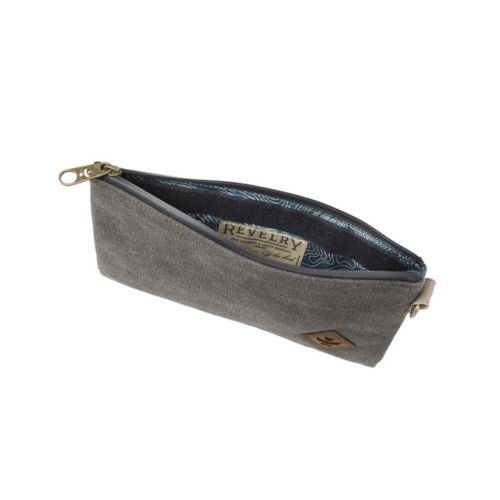 The Broker (Canvas Collection) Money Bag with Velcro & Zip by Revelry