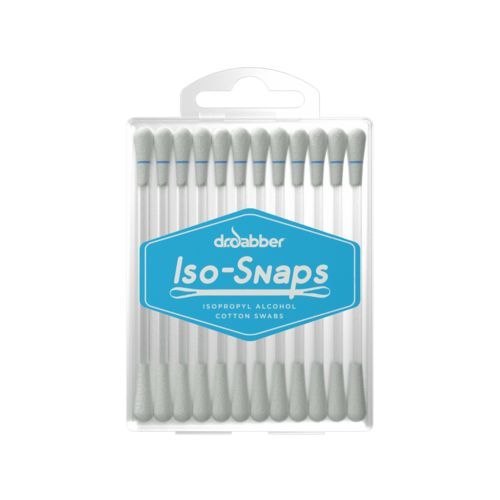 Iso-Snaps isopropyl alcohol Cotton Swabs - Dr Dabber
