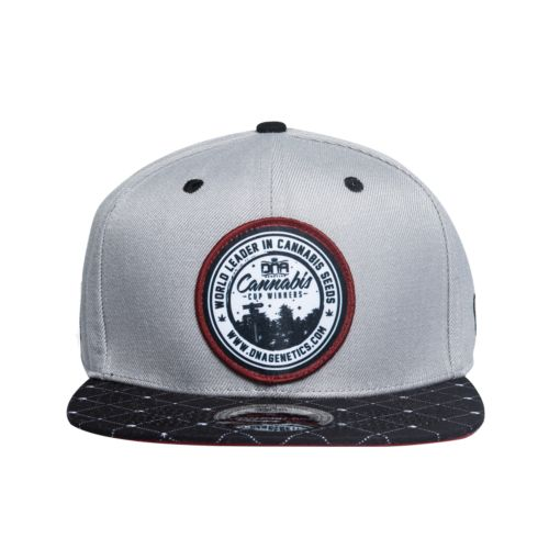 Custom 6 Panel Snapback Hat - World Leader by DNA Genetics