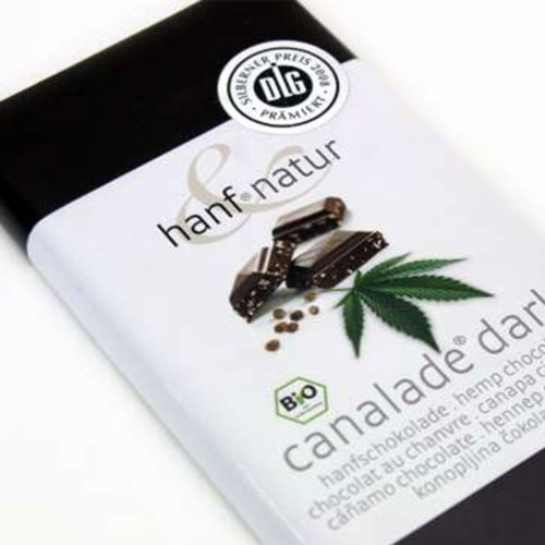 Hemp Dark Chocolate Canalade 100g