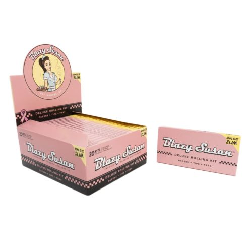 Deluxe Rolling Kit - Blazy Susan King Size Rolling Papers