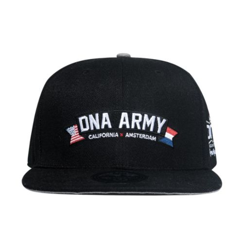 DNA Genetics 6 Panel Snapback Hat - DNA Army - Discontinued
