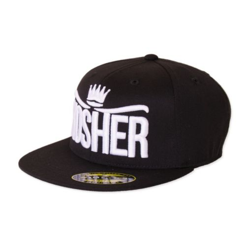 Flat Bill Stretch Fit Kosher Hat by DNA Genetics