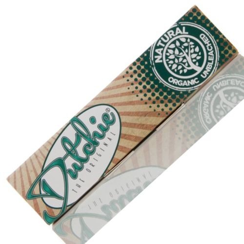 Natural Unbleached (King Size Slim with Filter Tips) Rolling Papers by Dutchie - The Original