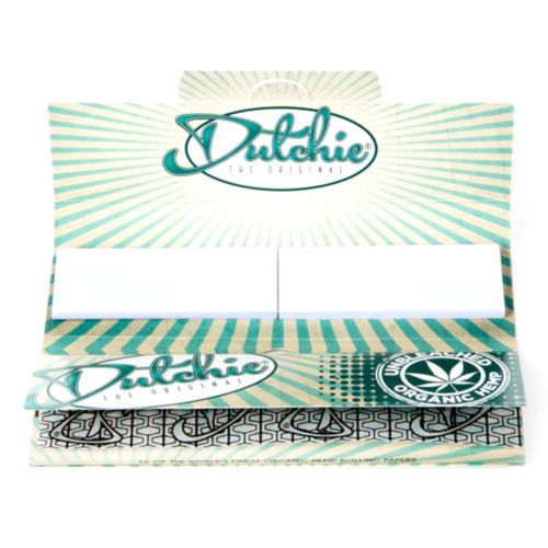 Unbleached Organic (King Size Slim with Filter Tips) Hemp Rolling Papers by Dutchie - The Original