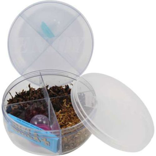 Enjoy Stash Jar - The Jar with 4 compartments to keep everything separate!