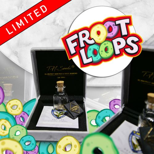 Froot Loops Cannabis Seeds by T.H Seeds