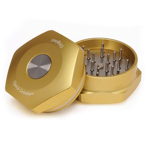 Original Quick Herb Grinder - Gold