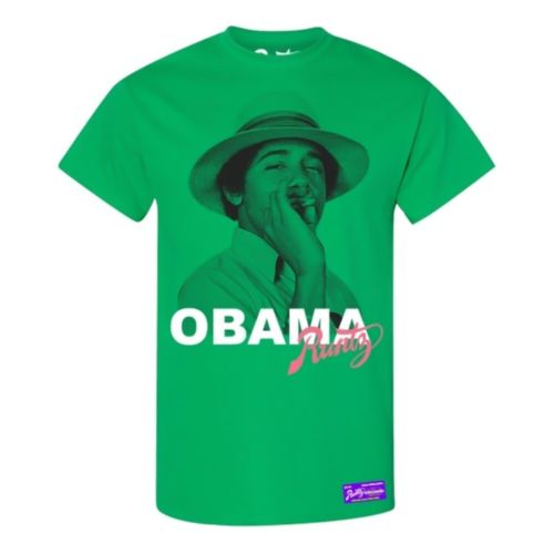 Obama T-Shirt By Runtz - Green