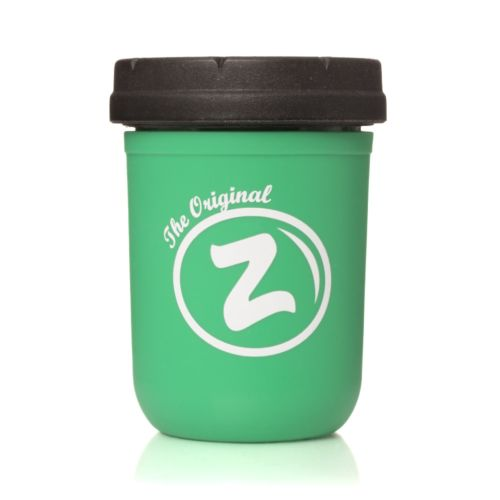 Green Zkittlez 8oz Mason Stash Jar by RE:STASH