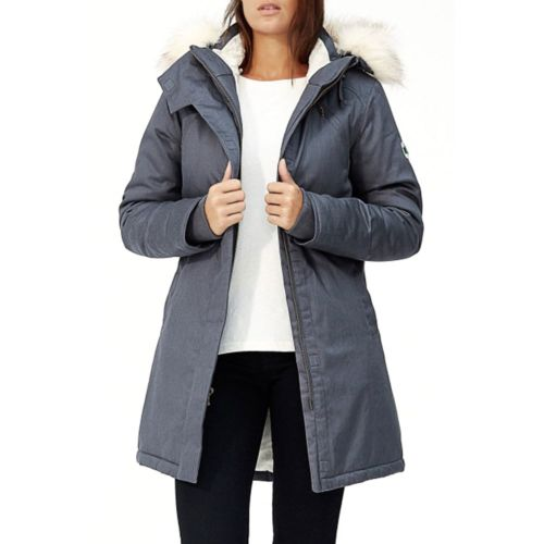Ladies' Nordic Parka (FW16) by Hoodlamb - Large Blue