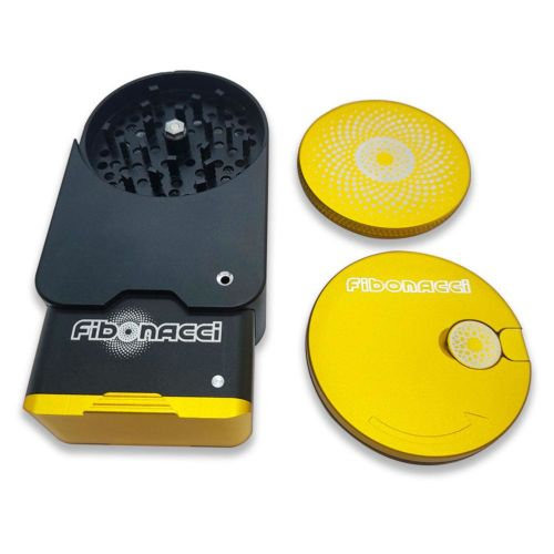 A1 Compact Grinder Yellow by Fibonacci Grinders