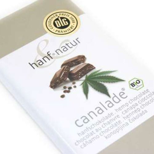 Hemp Milk Chocolate Canalade 100g - Certified Organic