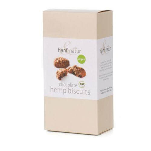 Chocolate Hemp Biscuits by Hanf Natur Hemp Foods