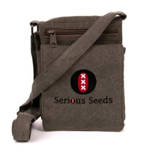 Hemp Serious Seeds Shoulder Bag by Sativa Bags