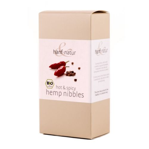 Hemp Nibbles Hot & Spicy 100g