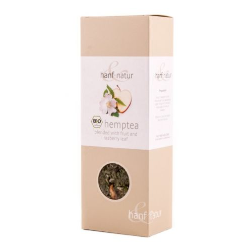 Hemp Tea Blend with Fruit & Rasberry - Hanf Natur