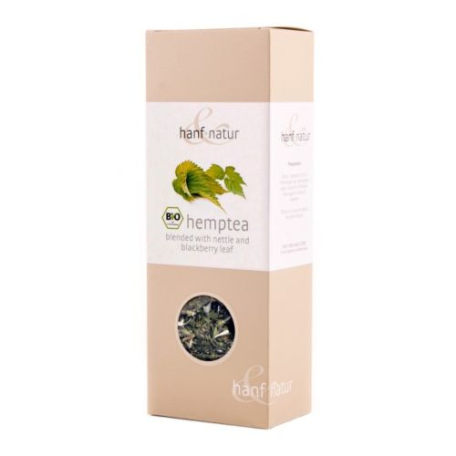 Hemp Tea Blend with Nettle 40g - Hanf Natur