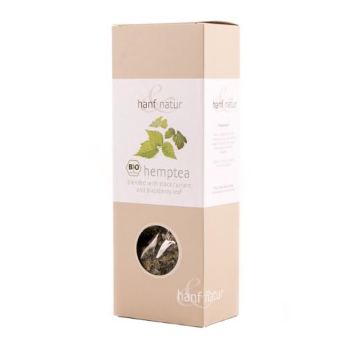 Hemp Tea Blend with Black Currant 40g - Certified Organic