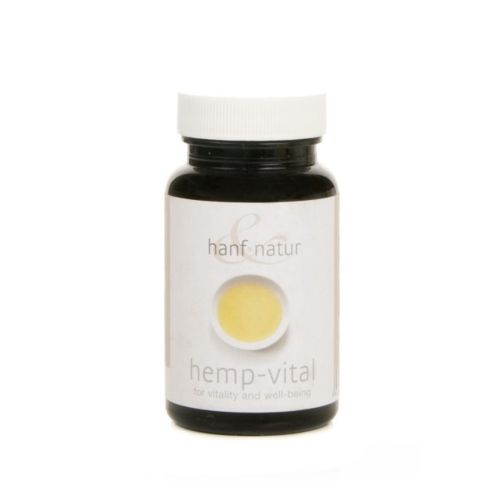 Hemp Vital Capsules by Hanf Natur Hemp Foods