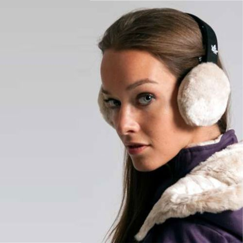Ladies Hemp Ear Muffs by Hoodlamb - Green