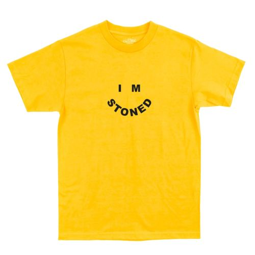 I'm Stoned T-Shirt by The Smoker's Club - Yellow