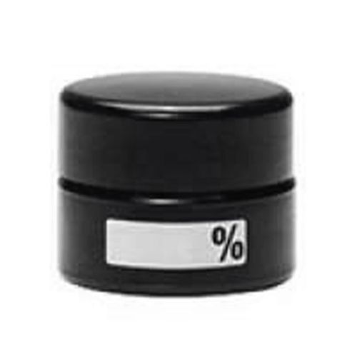 % Label (write and erase) design UV Concentrate Jars by 420 Science